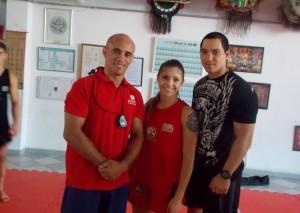 Bruna Ellen convocada para mundial de sanda kung fu 2014
